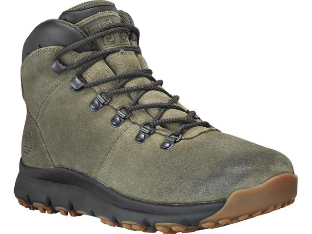 dc17e90efda Timberland World Hiker Calzado Hombre, dark green suede   Campz.es